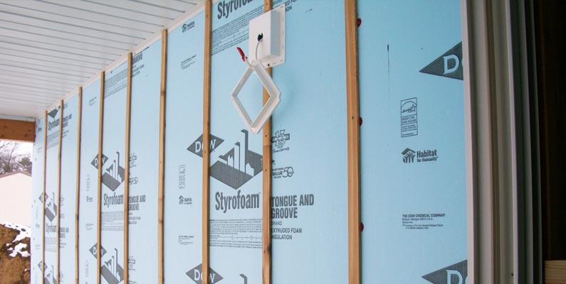 Exterior Rigid Insulation Board