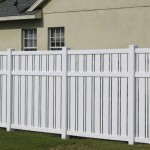 Semi-privacy Fence