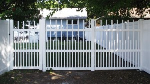 Premium Vinyl Picket Gate